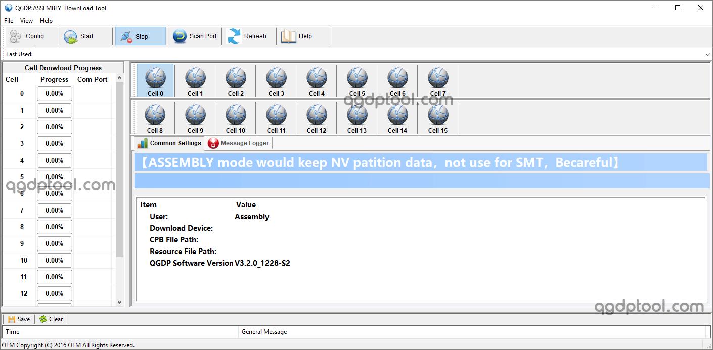 QGDP Tool Assembly v3.2.0